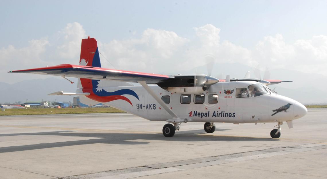 NAC brings fourth 17-seater aircraft from China