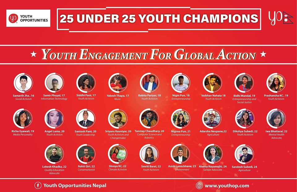 25 youths felicitated for their inspiring achievements