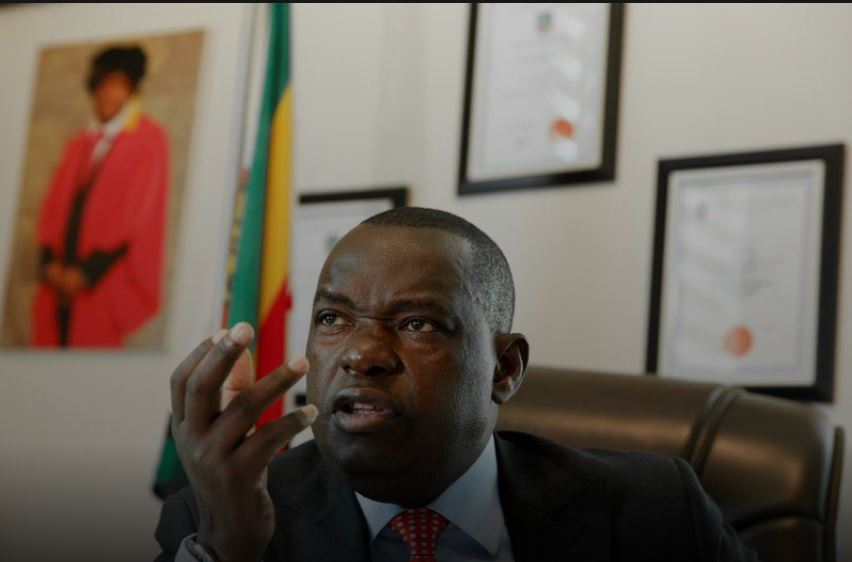 Zimbabwe's foreign minister dies after contracting COVID-19