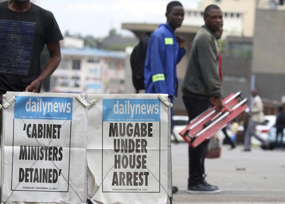 Zimbabwe calm as Mugabe is urged to go peacefully