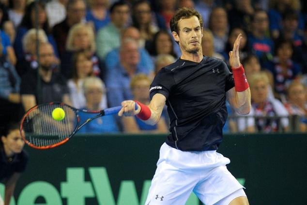 Tennis-Murray fells Del Potro in Paris