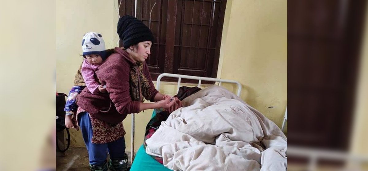 Health workers in rural Khotang work round-the-clock as COVID-19 cases see a rise in the district