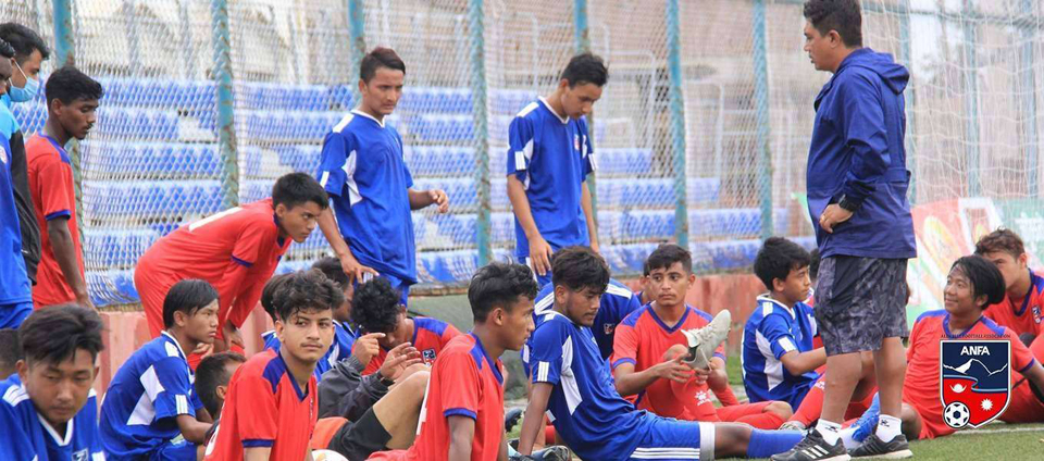 Nepal announces its squad for SAFF U-18 Championship
