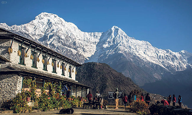 Annapurna region welcomed record 158,600 trekkers in 2017