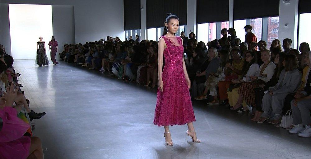 Tadashi Shoji returns to Japanese roots at NY Fashion Week