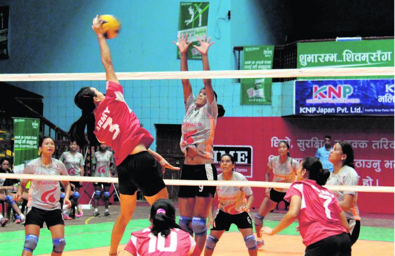 APF, NPC into women's volleyball semis