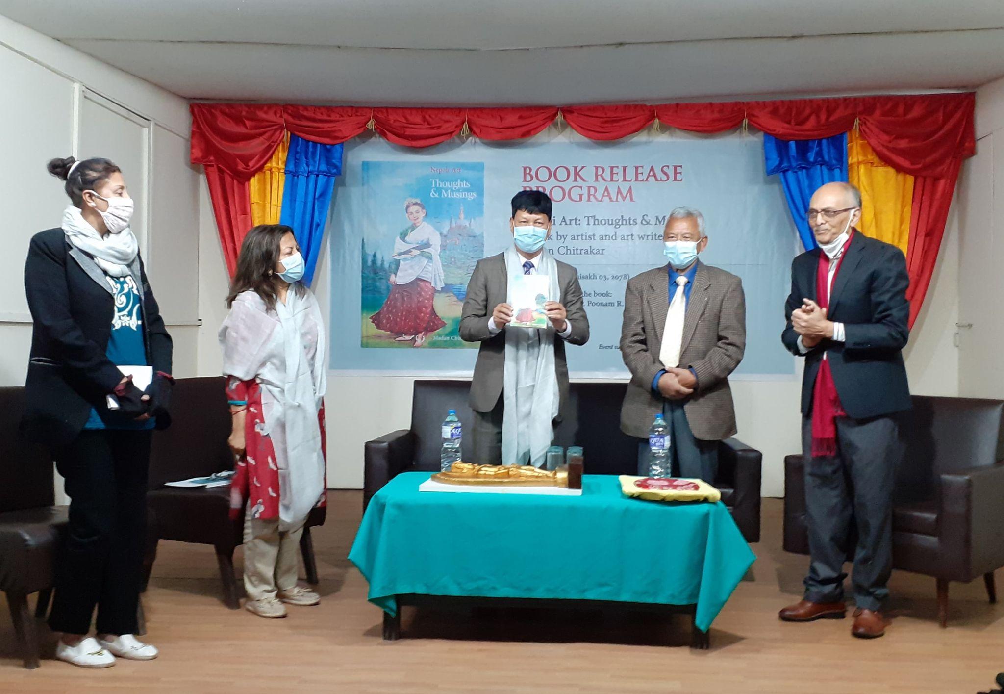Madan Chitrakar's 'Nepali Art: Thoughts and Musings' released