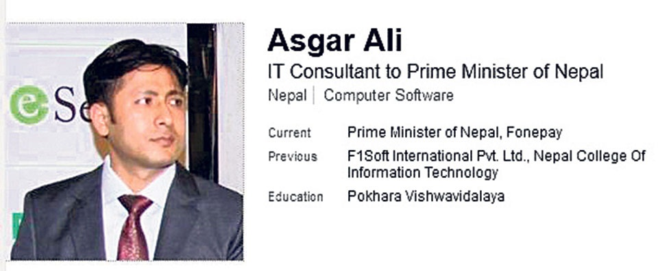 Here is why PM's IT consultant Asgar Ali has been a controversial figure