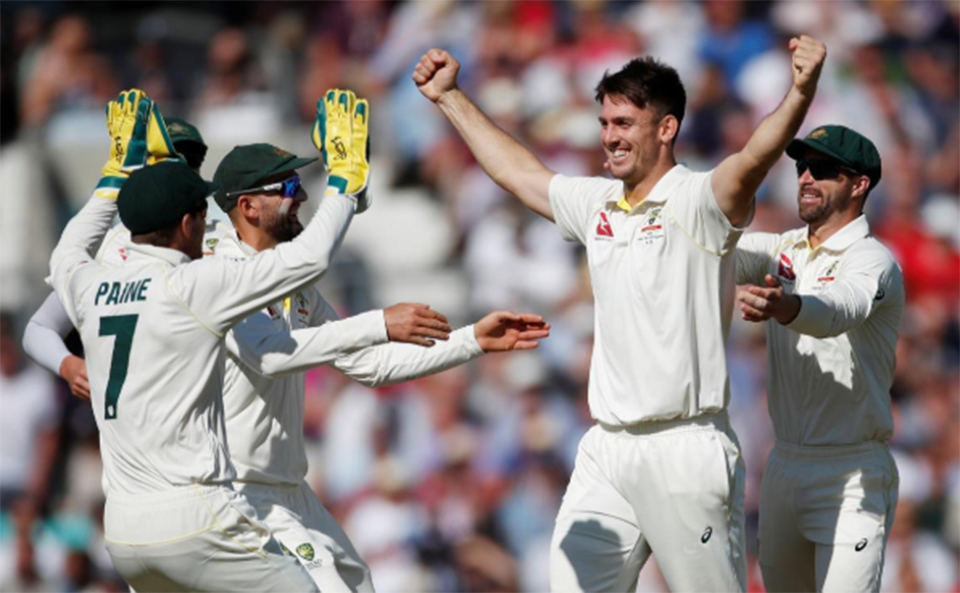 England all out for 294 as Marsh takes five wickets
