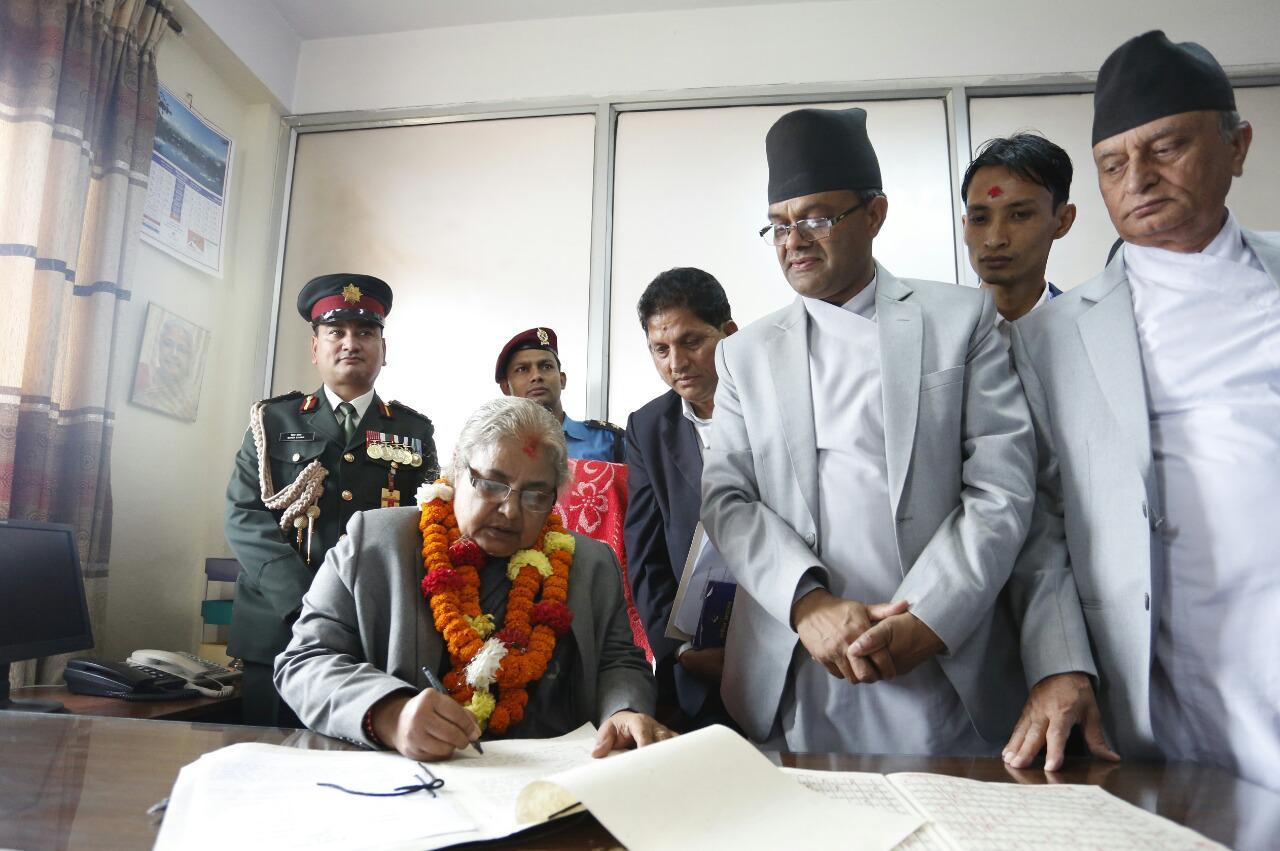 Karki becomes first woman CJ creating history