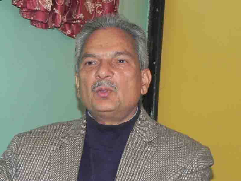 Election without constitution amendment is wrong: Dr Bhattarai