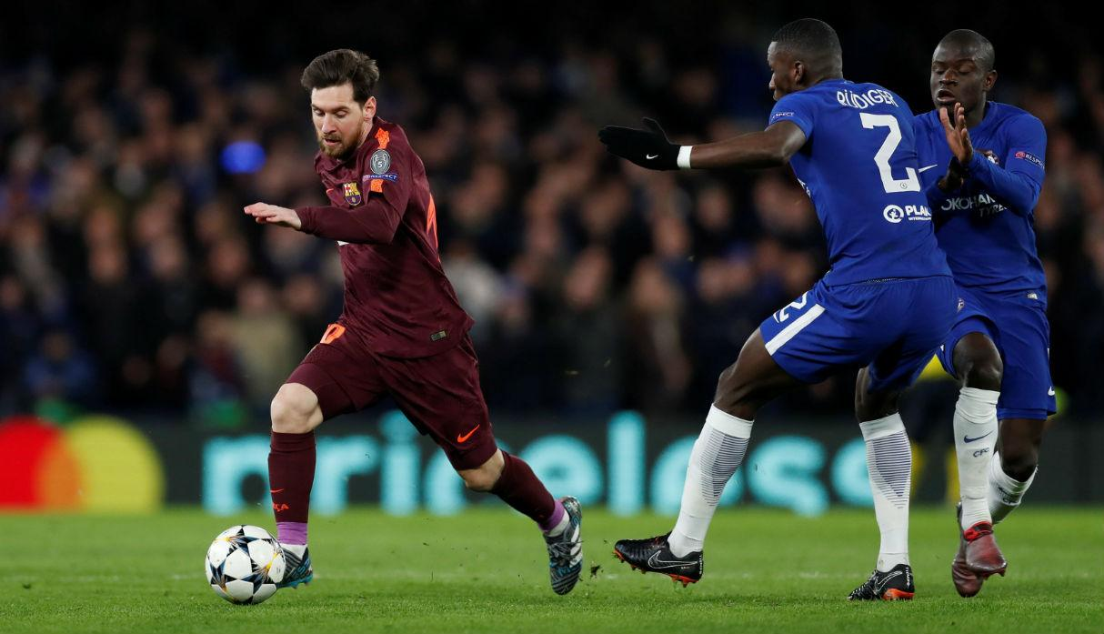 Lionel Messi comes up with the goods to earn Barcelona draw in Champions League at Chelsea