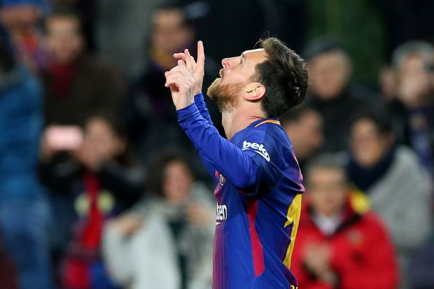 Messi double helps Barca reach King's Cup quarter-finals