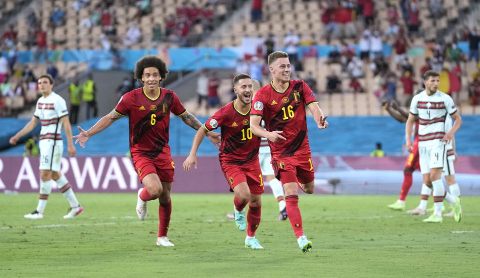 Belgium show grit and discipline to beat Portugal at own game