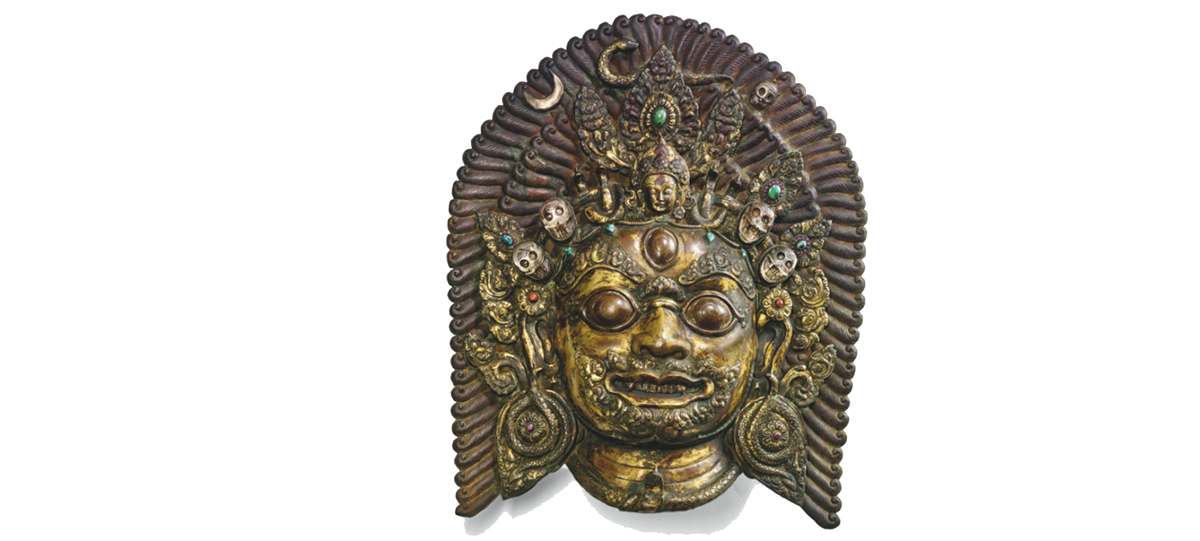 Nearly 500-year-old Bhairav's mask sold for Rs 7 million in Paris
