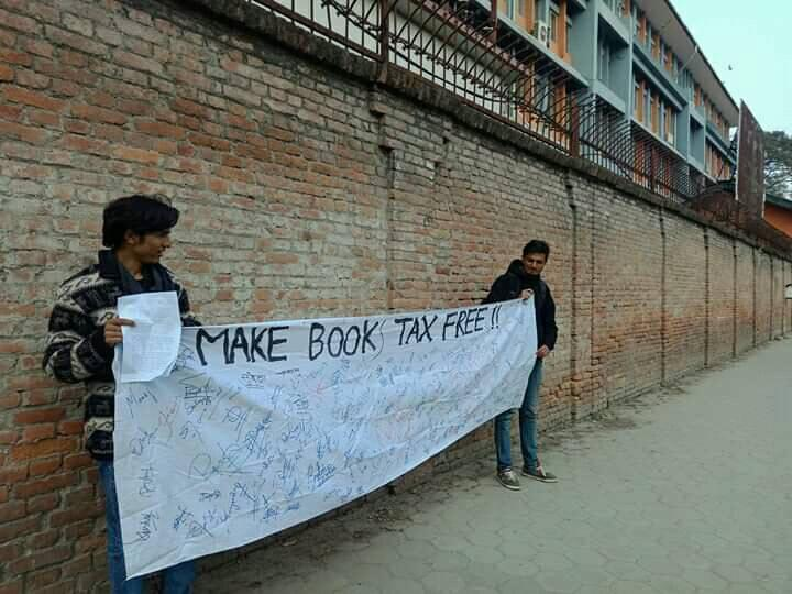 Police arrest students protesting against customs duty on imported books