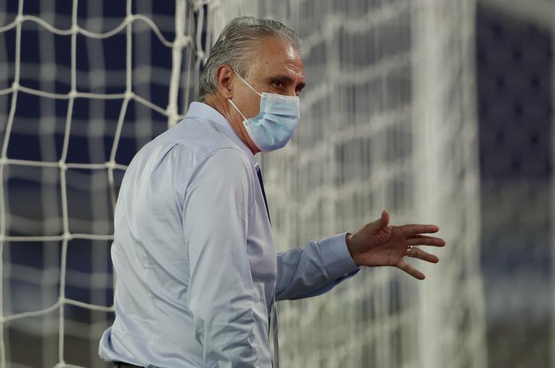 Brazil coach is fined for criticizing troubled Copa America