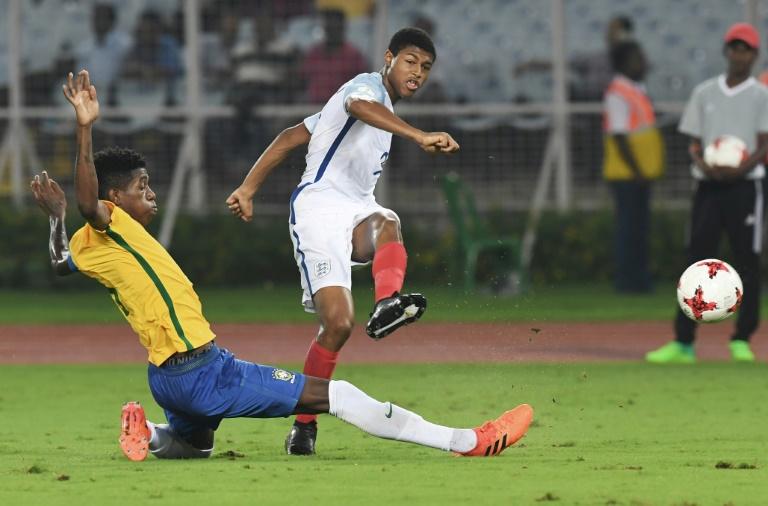 Brewster sends England into Under-17 World Cup final