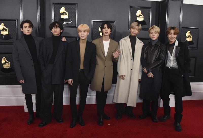 BTS, Megan Thee Stallion, Dua Lipa react to Grammy noms