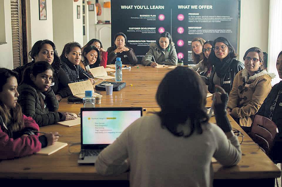 Building skills in women