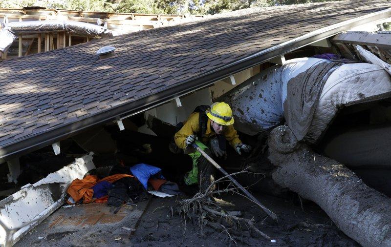 Update: California mudslides death toll rises to 19