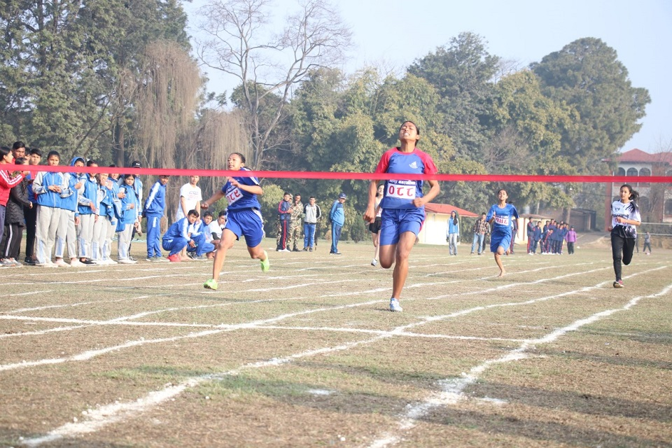 Bhaktapur dominating in Inter-Municipal Athletics Competition