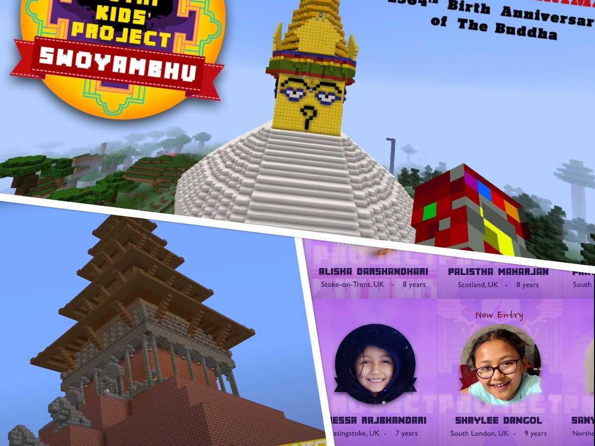 A Virtual Nepali Heritage built by British-Nepali Kids during the Lockdown