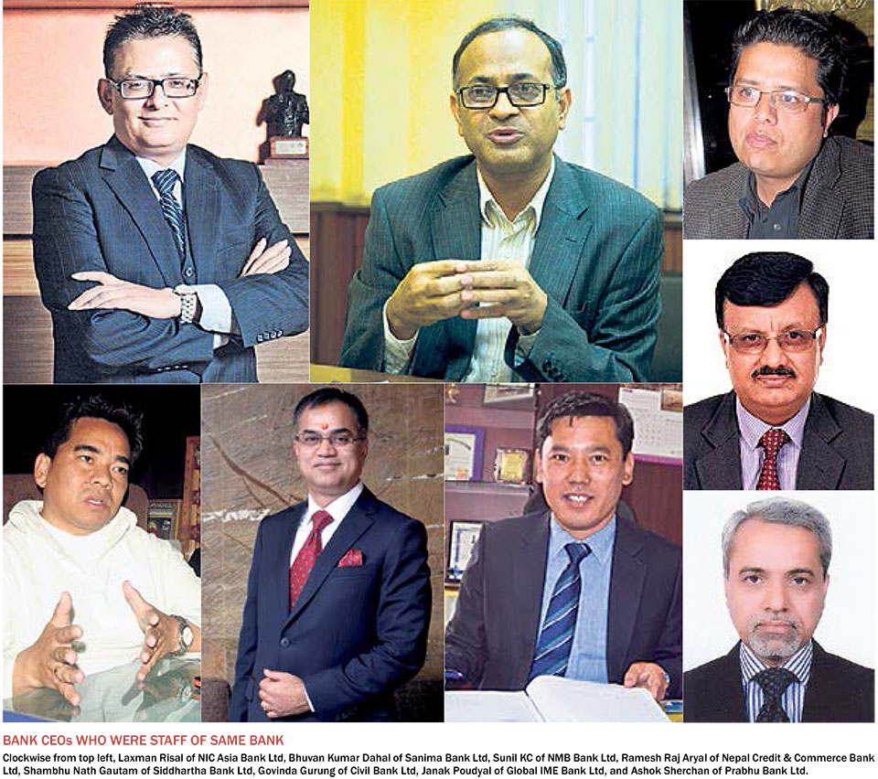 A CEO from within:  Nepali banks showing signs of succession plan