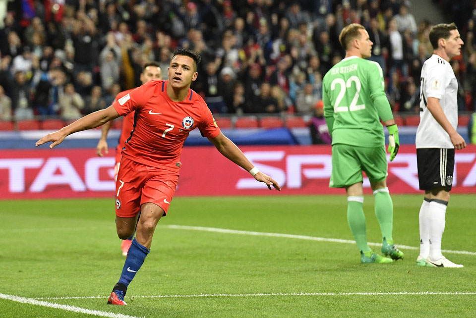 Sanchez scores early but Chile held by Germany