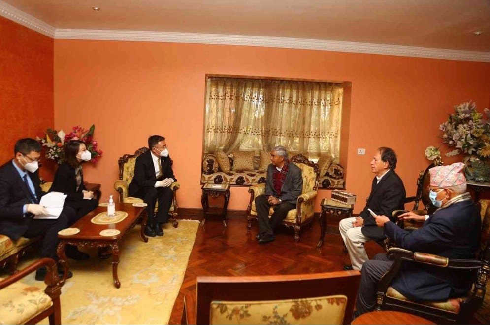 NC president Deuba gets invitation to visit China