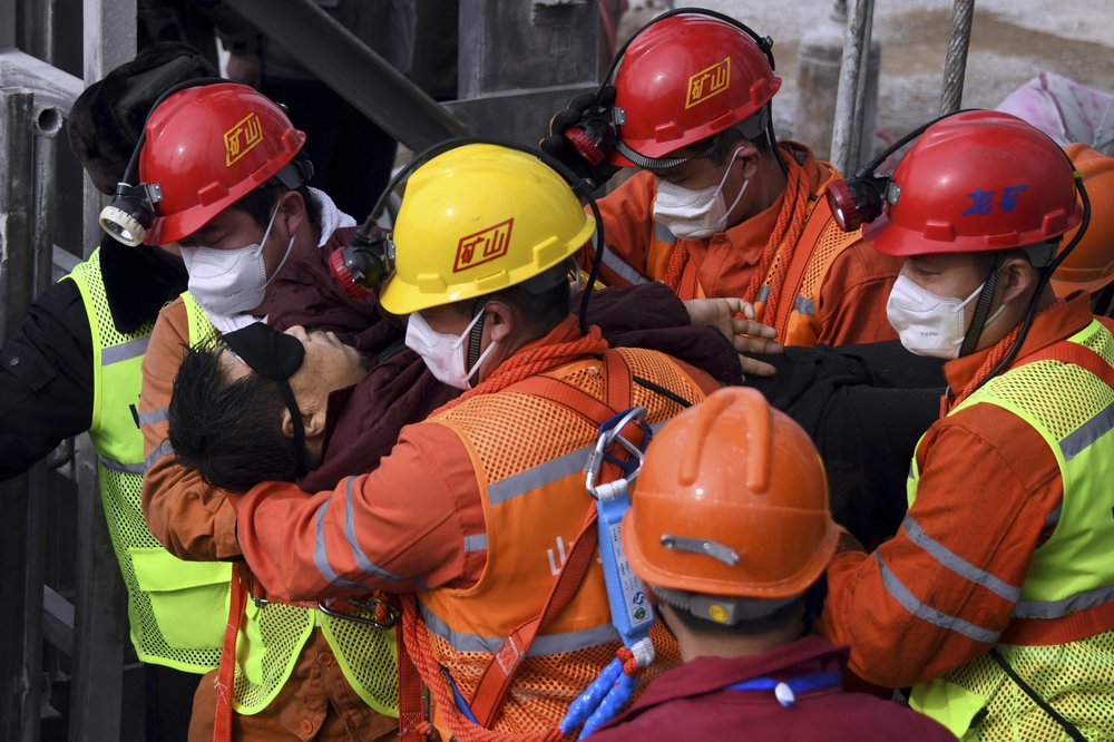 9 workers found dead in China gold mine explosions