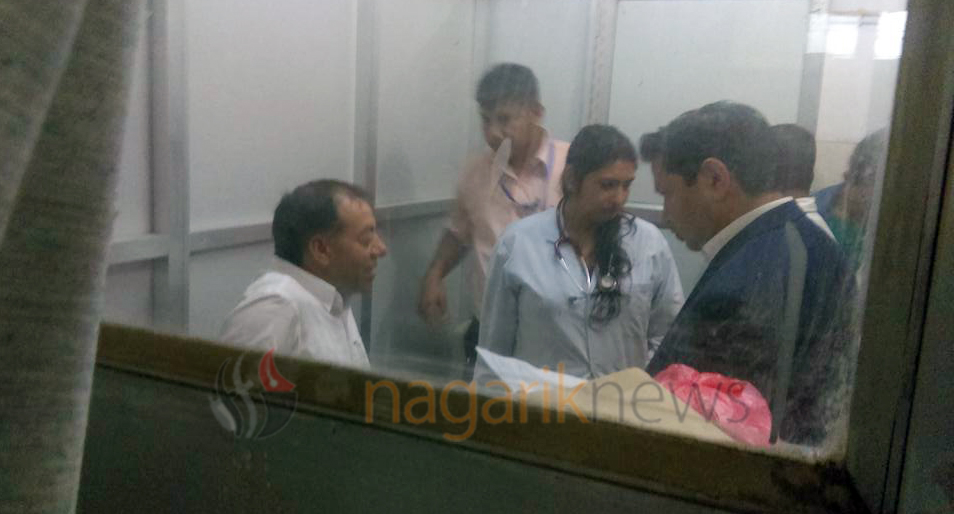 Graft-accused Sharma moved to Norvic Hospital