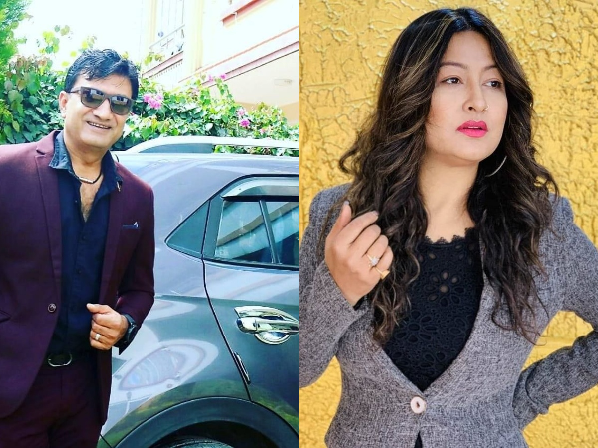 Miss Nepal 2000 Usha Khadgi going to divorce GP Timilsina