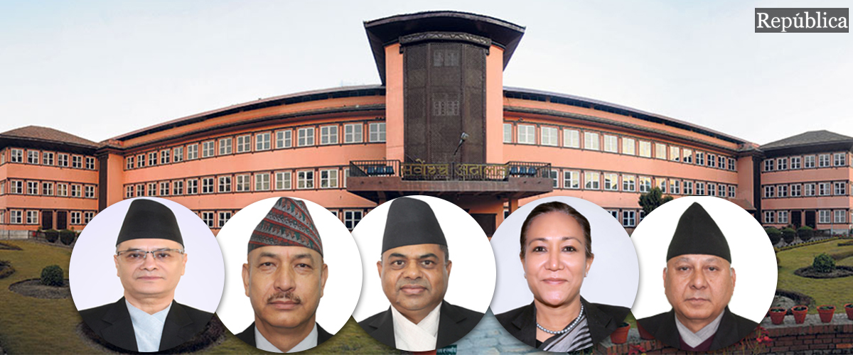 Petition filed at Constitutional Bench seeking examination of authenticity of House dissolution notice published in Nepal Gazette