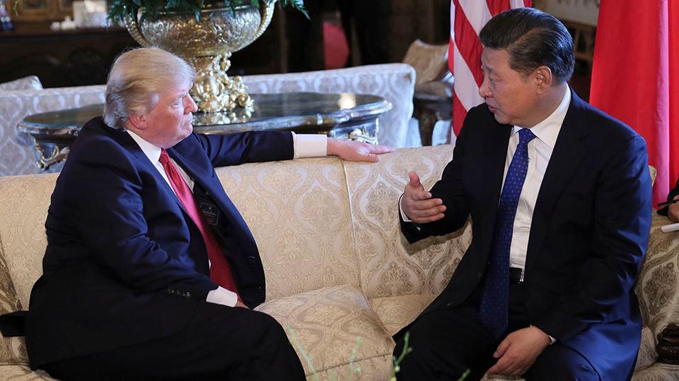 Trump goes to China