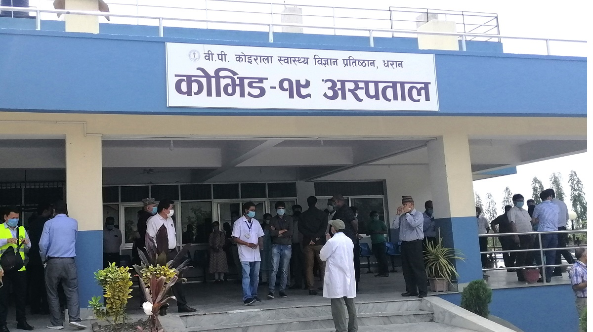Sunsari recorded two more COVID-19-related deaths in past 24 hours