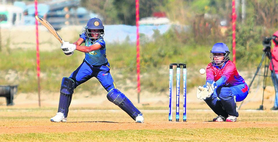 KC batting exploits hands Nepal win over Maldives
