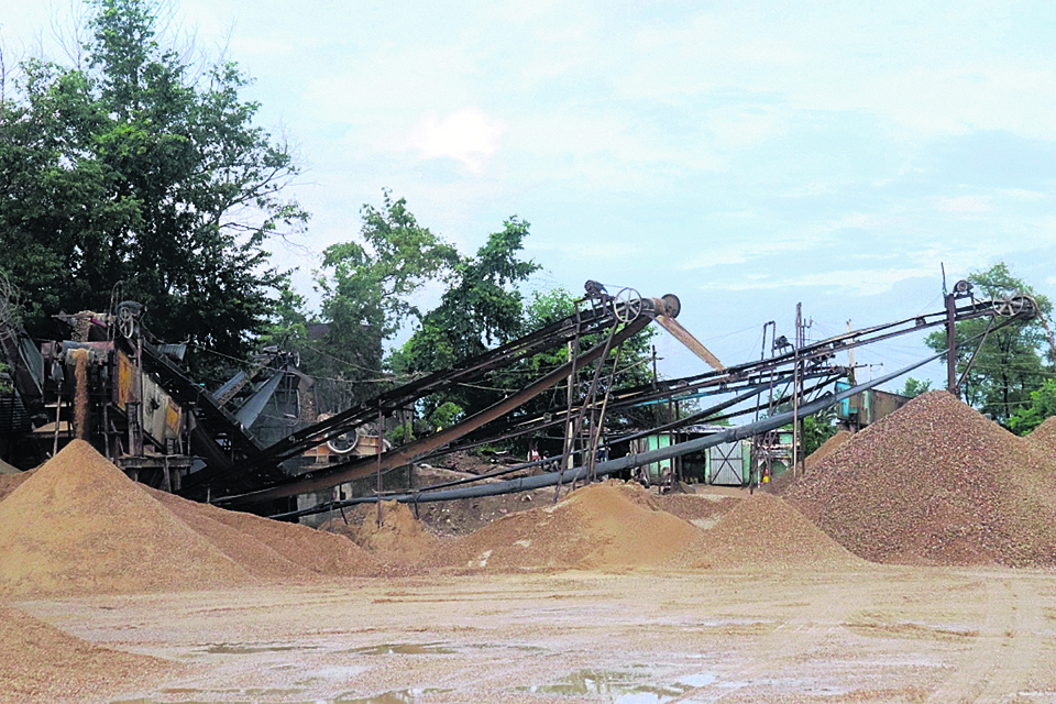 DAO asks local level to stop illegal operation of crusher industries in Gorkha