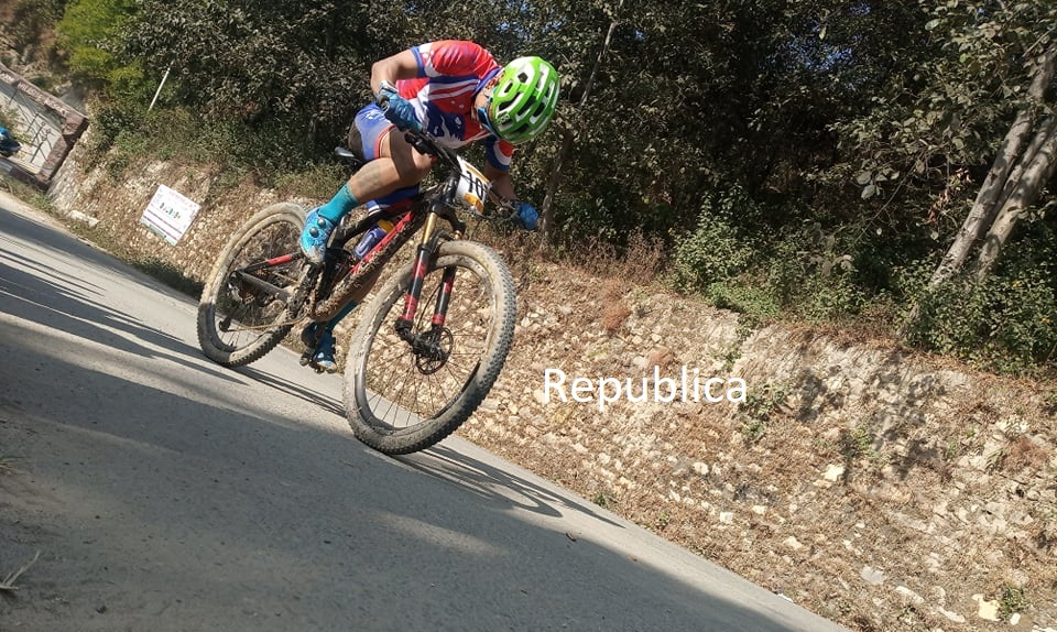 Nine SAG medals for Nepal in cycling including four gold