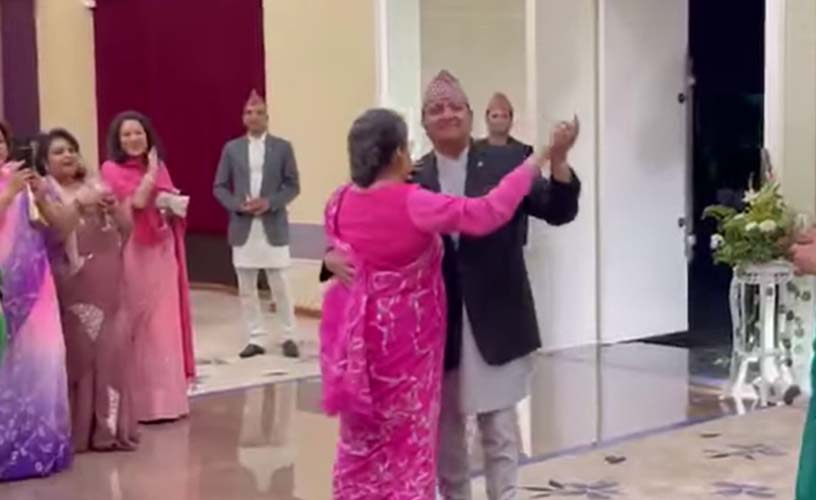 Video showing former King and Queen dance goes viral on social media