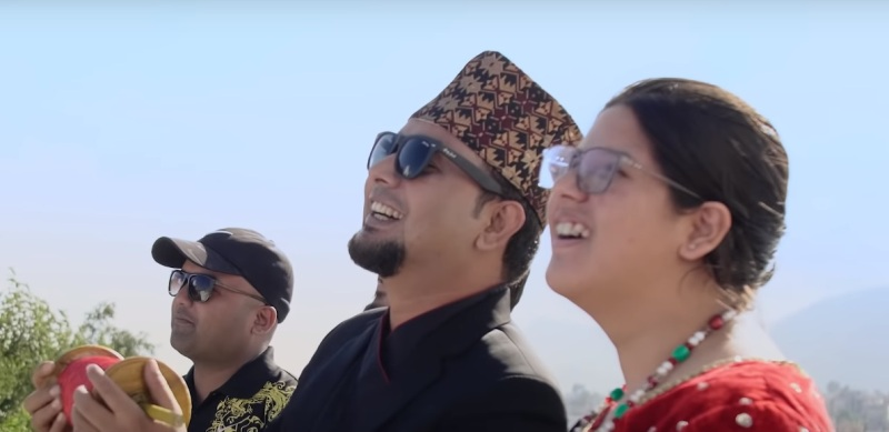Sugam Pokharel back with new Dashain song