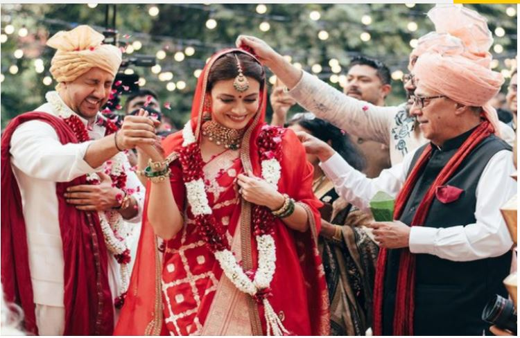 Dia Mirza shares unseen pics from her wedding