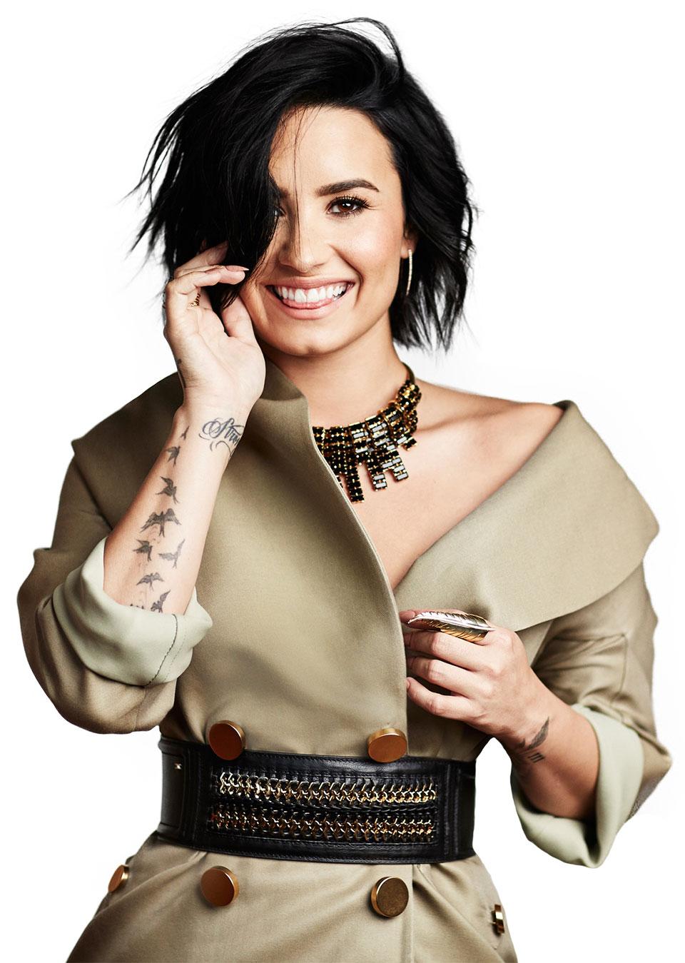 Demi Lovato on the right path