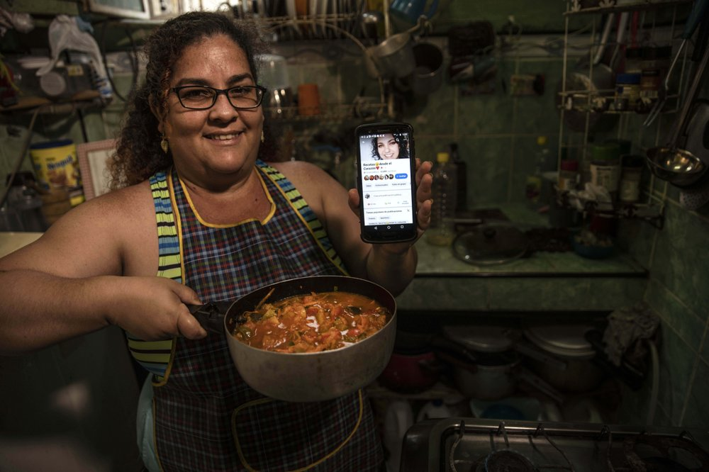 Cuban cooks overcome shortages with ingenuity on Facebook