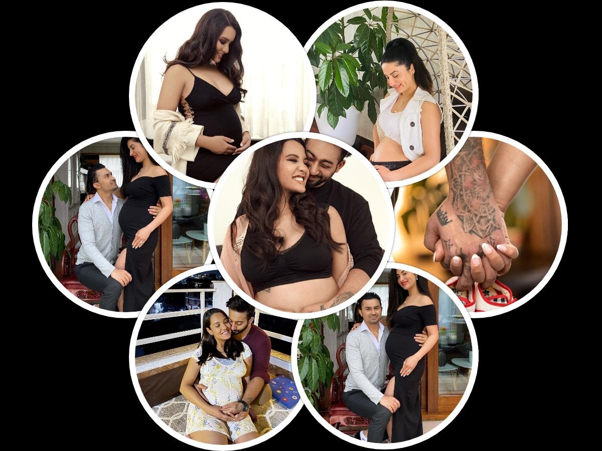 Priyanka and Garima flaunting baby bumps