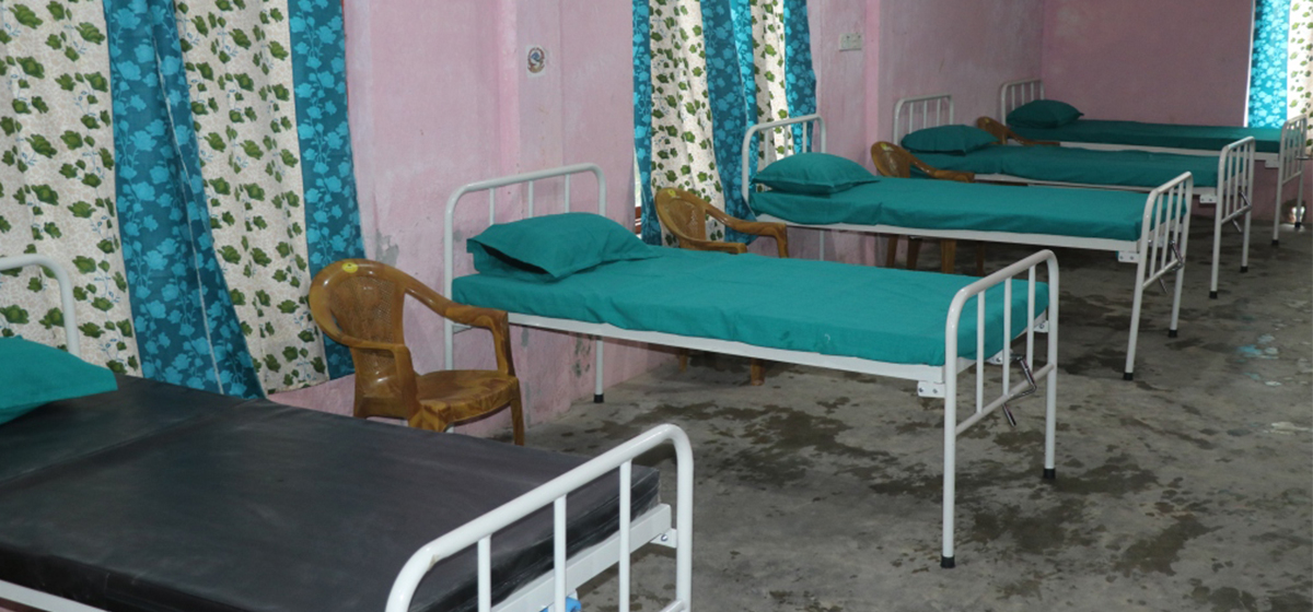 FNJ Dhading sets up 5-bed isolation ward for infected journalists