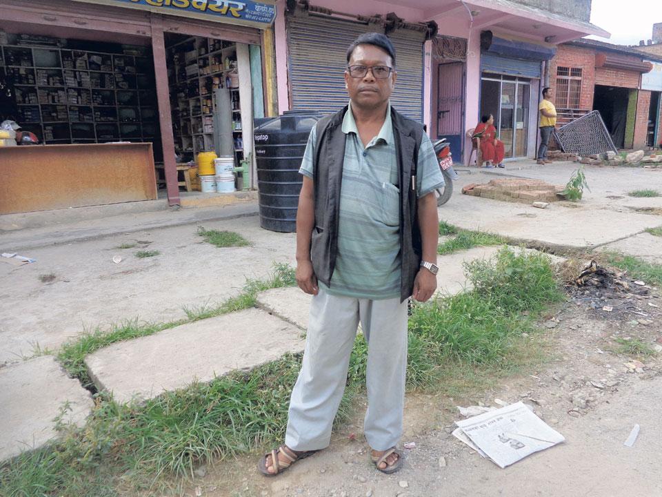 Kusunda man's foray into politics