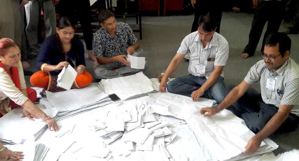 Vote-count held in abeyance in Wards 3 and 17 of Dhangadhi Sub-metropolis