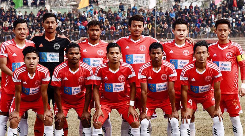 NPC enters final defeating Dharan Club