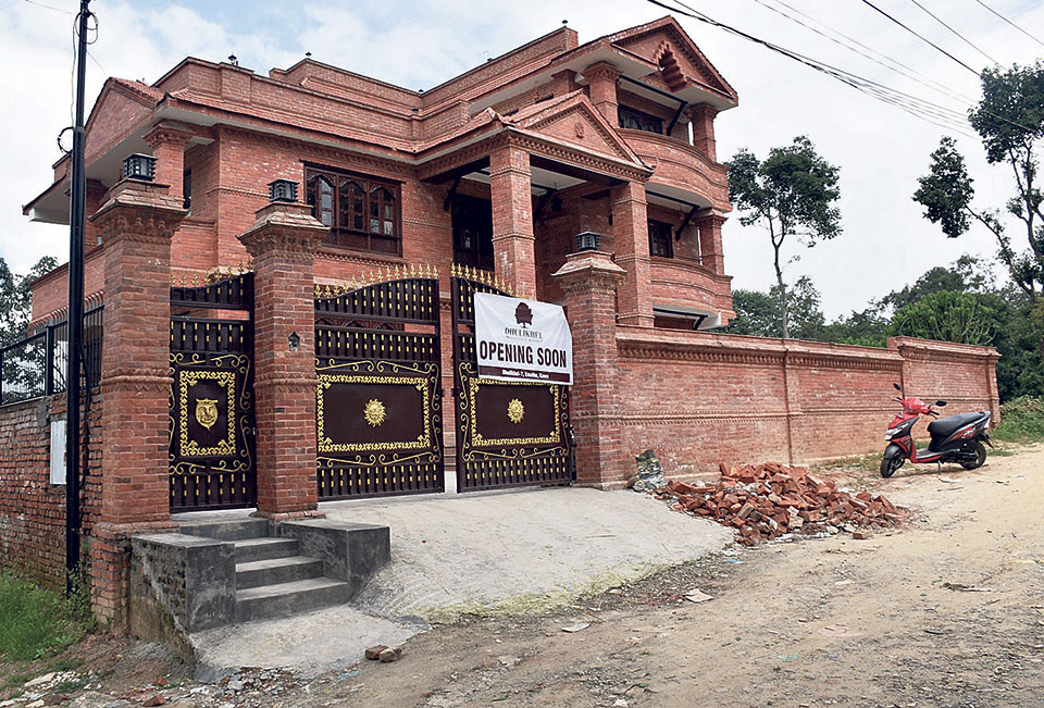 New hotels, resorts going up in Dhulikhel